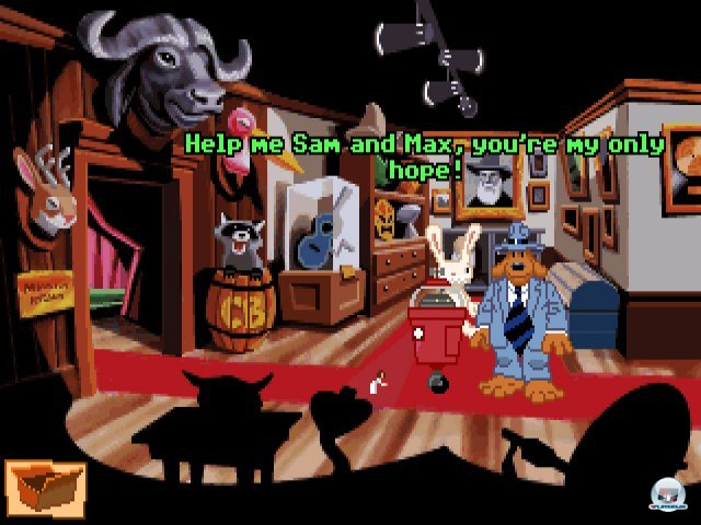 Screenshot - Sam & Max Hit the Road (PC) 92431837