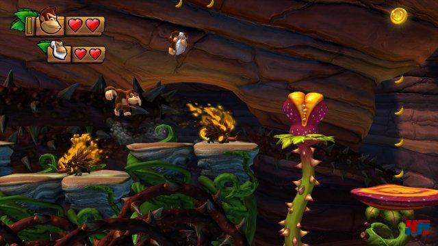 Cranky Kong feiert einen tollen Einstand als spielbarer Charakter.