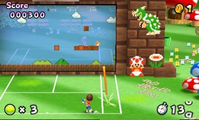 Screenshot - Mario Tennis Open (3DS)