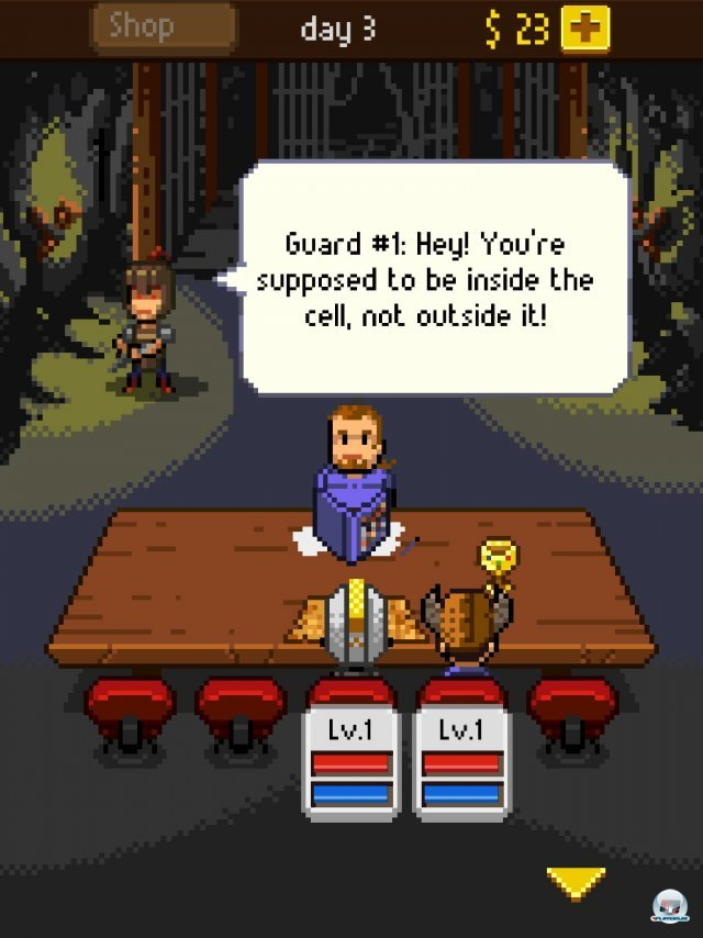 Screenshot - Knights of Pen & Paper (iPad) 92458311