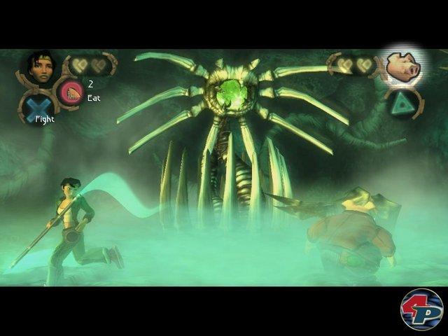 Beyond Good and Evil fäng da an, wo andere Spiele manchmal erst aufhören: bei einem packenden Bosskampf!