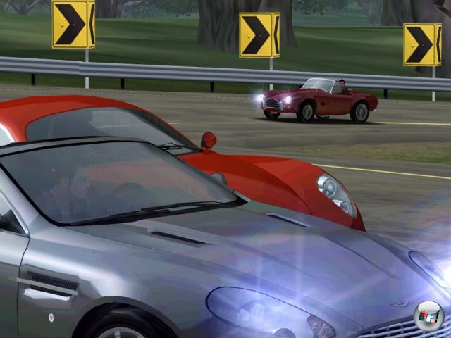 В Test Drive Unlimited игрок имеет возможность ездить как по дорогам