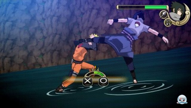 Screenshot - Naruto Shippuden: Ultimate Ninja Impact (PSP) 2281657