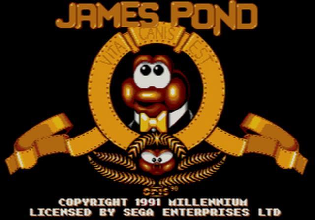 James Pond - 1990-1993 - diverse<br><br>Alte Herren wissen: Das ist kein Schreibfehler! James Pond hieß wirklich so, war ein spionischer Fisch, kämpfte gegen den Schurken Dr. Maybe (!), die Levels hatten Namen wie »Liebesgrüße aus Sellafield« (eine englische Atomkraftanlage) und die Serie brachte es auf insgesamt vier Ausgaben. Ob es die gelungene Parodie unter den Fittichen von Electronic Arts war, die den Publisher bei der Lizenzvergabe für die späteren Nicht-Filmumsetzungen ins Gespräch brachte? 2174003