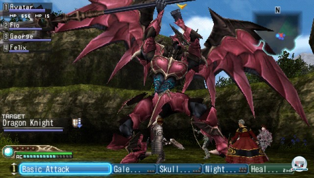 Screenshot - White Knight Chronicles: Origins (PSP) 2227002