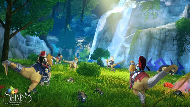 Screenshot - Shiness: The Lightning Kingdom (Linux)