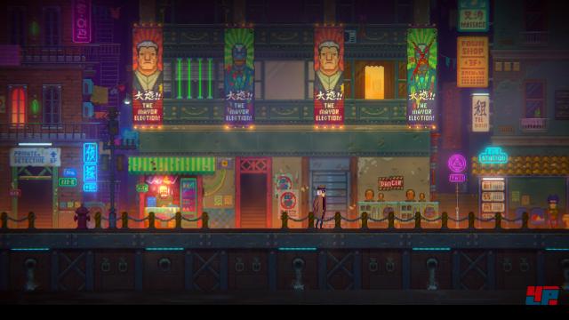 Screenshot - Tales of the Neon Sea (PC)