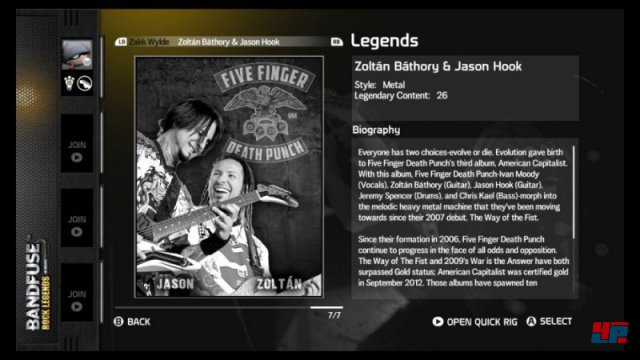 Screenshot - BandFuse: Rock Legends (360)