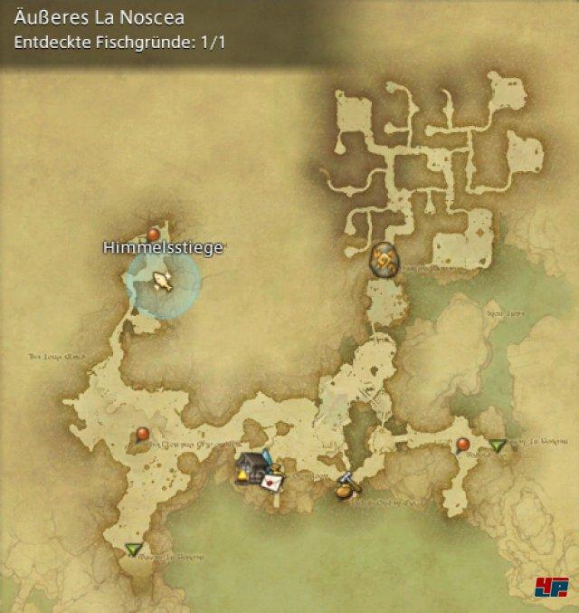 Final Fantasy XIV Online: A Realm Reborn - Fischgr�nde: La Noscea, �u�eres La Noscea