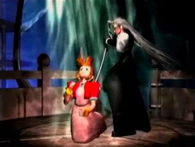 <i>Final Fantasy 7</i><br><br>Sephiroth tötet Aerith! 1743883
