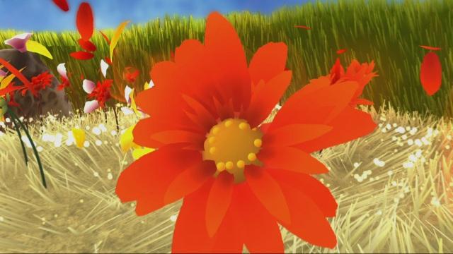 Flower <br><br>  Nie sah eine Wiese schöner aus als hier! Da wiegen sich die saftig-grünen Grashalme im Wind, Blumen blühen und man zieht herrliche Schneisen durch die Pflanzenwelt. Eigentlich das perfekte Sommer-Sonne-Öko-Spiel. Doch gegen Ende überrascht das Abenteuer mit seiner dunklen Seite, in der die farbenfrohen Kulissen immer mehr von düsteren Schauplätzen abgelöst werden...    2088183