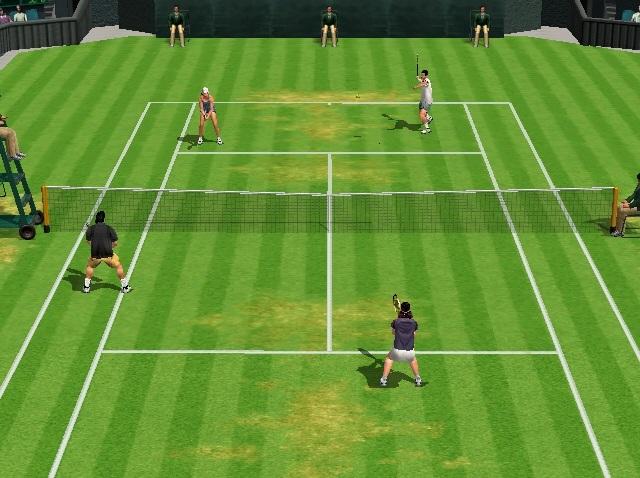 <br><br>Schon damals gab Sega mit Virtua Tennis den Ton auf dem Center Court an: Kein anderer Sporttitel sorgte f�r derart schwei�treibende (und schmerzhafte) Matches und konnte mit einem �hnlich grandiosen Spielgef�hl mit Schl�ger und Ball aufwarten. Mit der 2k-Version setzte man sogar noch einen drauf und schickte erstmals auch lizenzierte Cracks der Damenwelt auf den Platz. Verglichen mit der sp�teren PS2-Umsetzung ist die Dreamcast-Variante immer noch die bessere Wahl... 2068253
