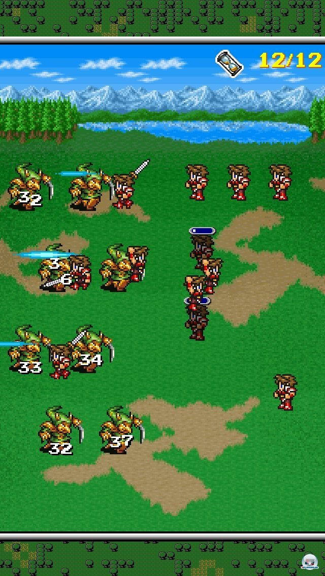 Screenshot - Final Fantasy: All The Bravest (iPhone)