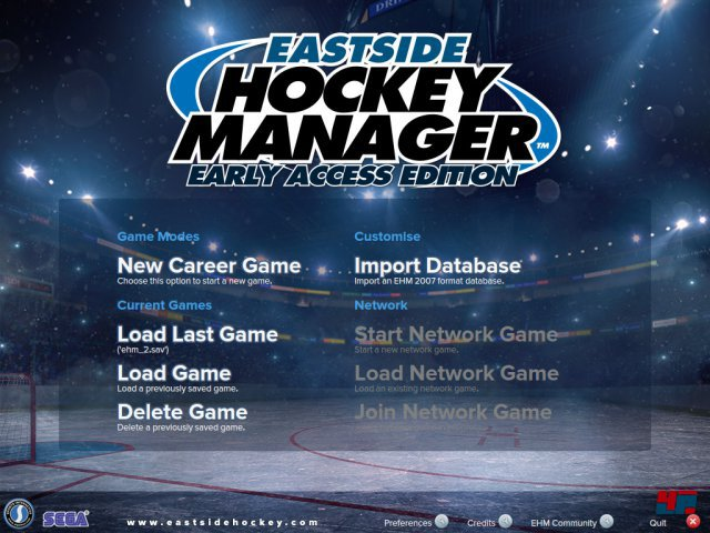 Screenshot - Eastside Hockey Manager (PC)