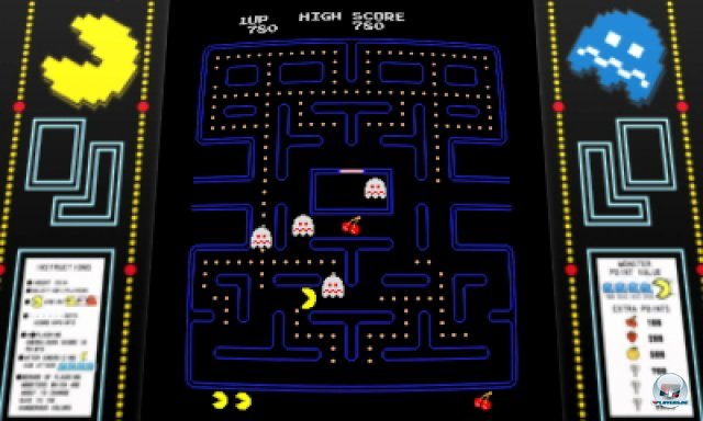 Screenshot - Pac-Man & Galaga Dimensions (3DS) 2257262