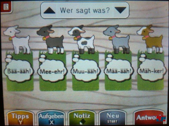 Das sagen die Ziegen.