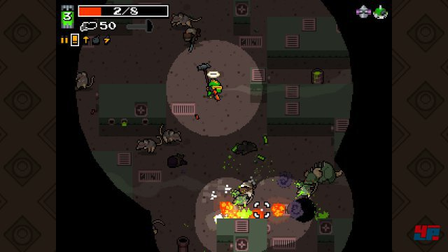Screenshot - Nuclear Throne (Linux)