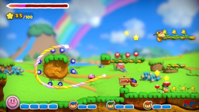Das Spiel gestaltet sich deutlich hektischer als rätsellastige Mal-Plattformer wie nihilumbra oder Max and the Curse of Brotherhood.