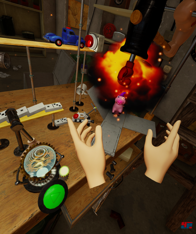 Screenshot - Crazy Machines VR (HTCVive)