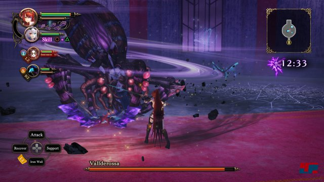 Screenshot - Nights of Azure 2: Bride of the New Moon (PC) 92552565
