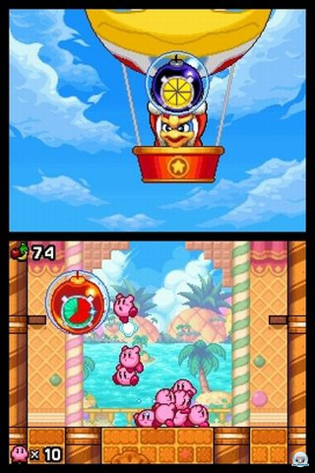 Screenshot - Kirby: Mass Attack (NDS)