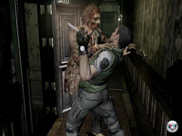 Resident Evil<br><br>Man kann nie genug durch Scheiben brechende Tollwuttölen haben! Das muss sich auch Capcom gedacht haben, als man das gute alte PlayStation-Resi auf den GameCube (Friede seiner verschmorten Asche) umsetzte: Frische Grafik, ein paar neue Levels, aber sonst bewährtes Gruseldesign = Win! 1758433