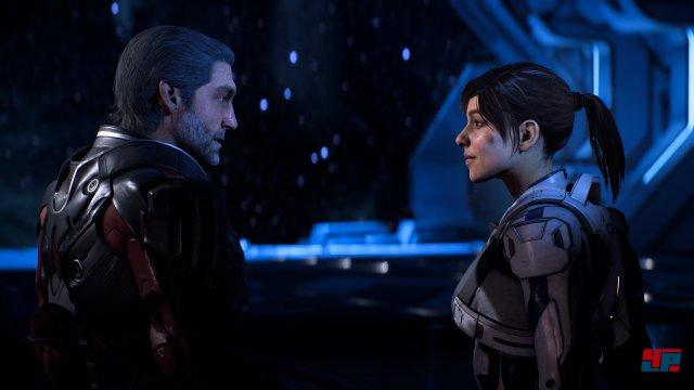 Trotz intensiver Bemühungen fällt es Mass Effect Andromeda schwer, die Ryder-Zwillinge als glaubwürdige Protagonisten zu etablieren.