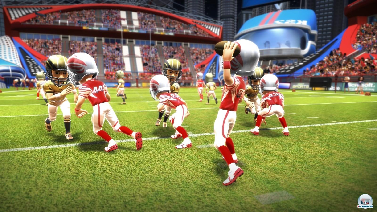 American Football ist ein Highlight in der Auswahl.