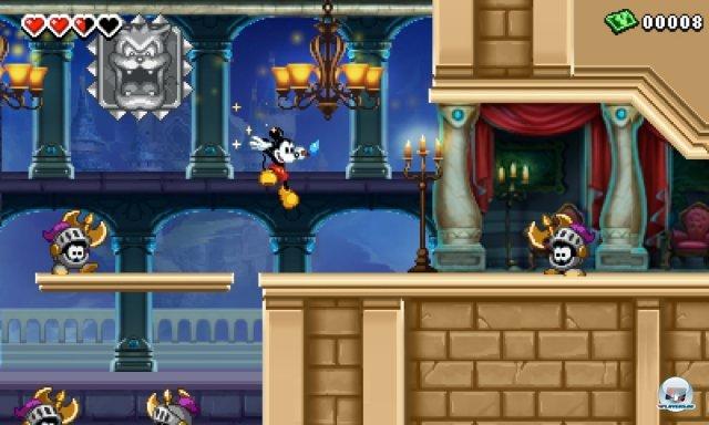 Castle of Illusion ist wieder da! Zwar modern, aber auch mit vielen Parallelen zum ikonischen Mega-Drive-Original.