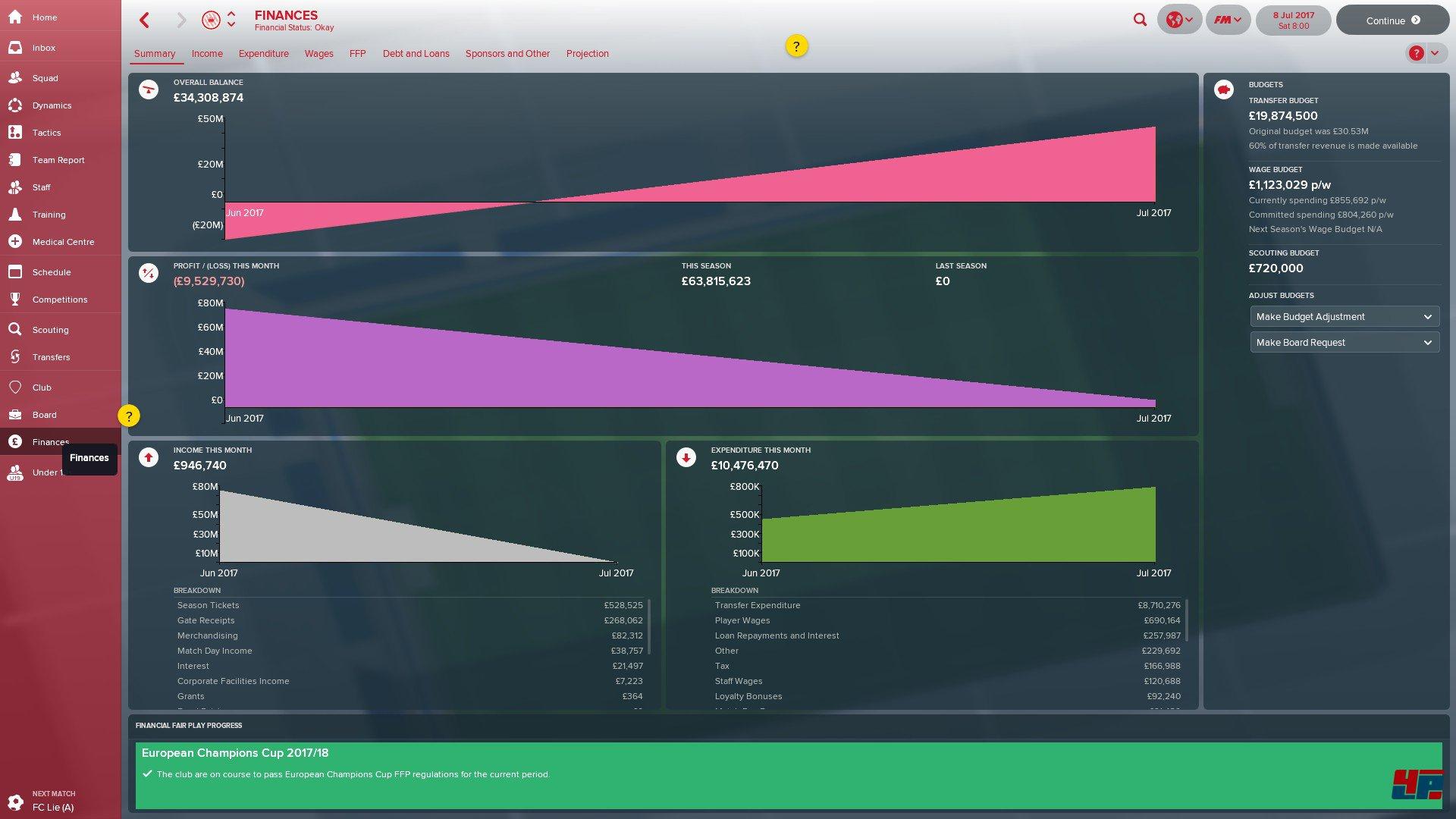 Screenshots zu Football Manager 2018 Alles zum Sport Spiel Football