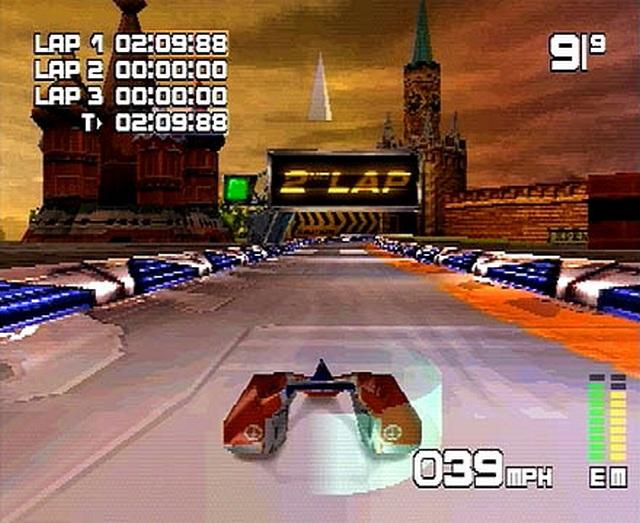 Mag Force Racing / Killer Loop <br><br>  Die WipEout-Konkurrenz aus Deutschland hörte auf den Namen Killer Loop. VCC Entertainment orientierte sich dabei eher an Extreme G und bot ebenfalls jede Menge Loopings auf den schicken
