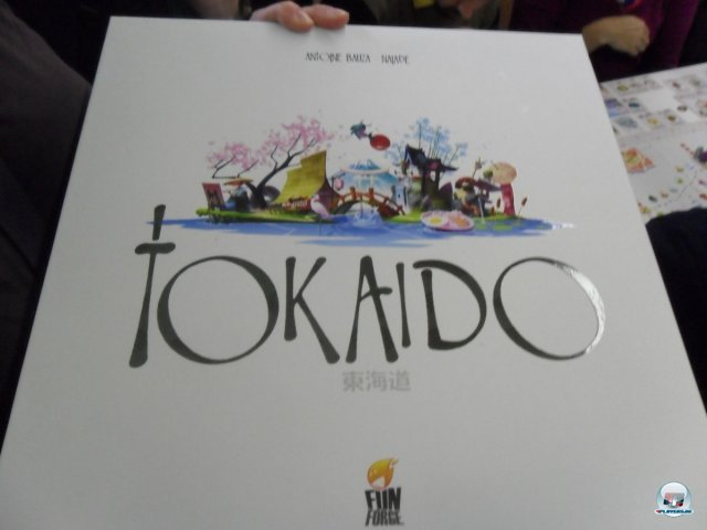 Tokaido war einer der Hingucker auf der SPIEL '12 in Essen.