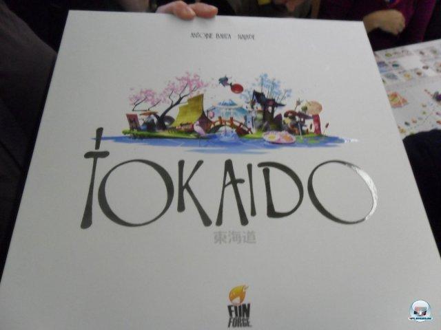 Tokaido war einer der Hingucker auf der SPIEL '12 in Essen.