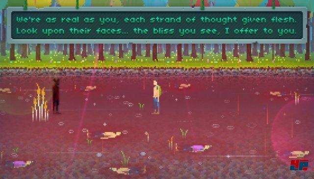 Ein unheimliches Mysterium lauert in der zauberhaften Pixelwelt.