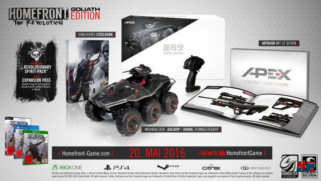 Homefront: The Revolution Goliath Edition