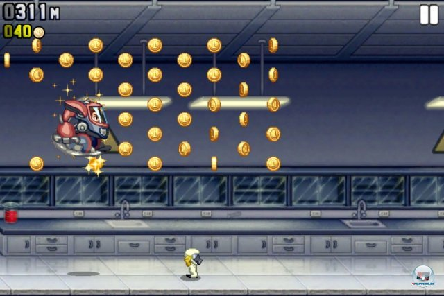 Screenshot - Jetpack Joyride (iPhone)