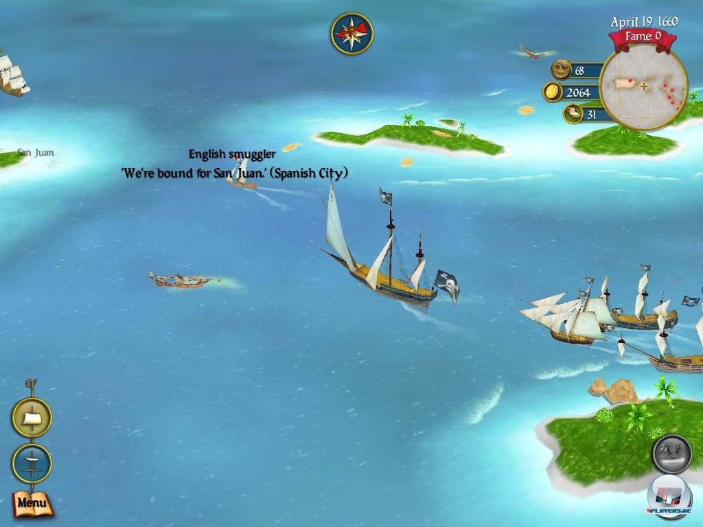 Und da kuttern sie schon wieder, dieses Mal in iPad-Gewässern: Pirates ist immer noch ein spaßiges Spiel, aber ein hübsches schon lange nicht mehr.