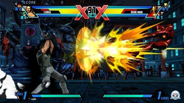 Screenshot - Ultimate Marvel vs. Capcom 3 (PS_Vita) 2317002