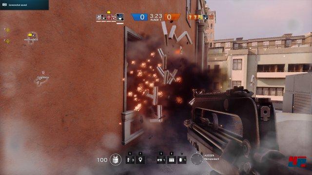 Die Explosionen und ihre taktischen Folgen erzeugen einen einzigartigen Spielfluss.