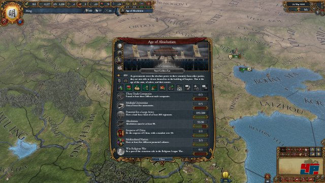 Screenshot - Europa Universalis 4: Mandate of Heaven (PC)