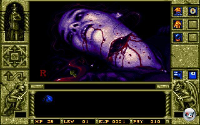 Gerade der Bereich der Adventures und Rollenspiele war immer für mehr oder weniger lange Schreckmomente gut; von Elvira - Mistress of the Dark über Dark Seed (mit Designs von Alien-Papa H.R. Giger) bis hin zu Black Mirror klickte man sich durch mehr oder weniger subtile Formen des Schauderns. Eines der fieseren Beispiele der letzteren Kategorie war das 1992er Waxworks von Horror Soft: Eine Mischung aus Adventure und RPG, das besonders für seine drastischen Darstellung von Leichen und Verstümmelungen berüchtigt war und ist. Bezeichnenderweise war das Spiel das letzte des britischen Entwicklers Horror Soft - nach Waxworks benannte man sich in Adventure Soft um, um mit Simon The Sorcerer und Floyd die komplett neue Welt der Spaß-Abenteuer zu erkunden. 1922533