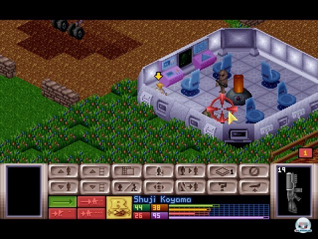 Screenshot - X-Com: UFO Defense (PC-CDROM)