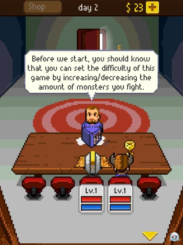 Screenshot - Knights of Pen & Paper (iPad) 92458310