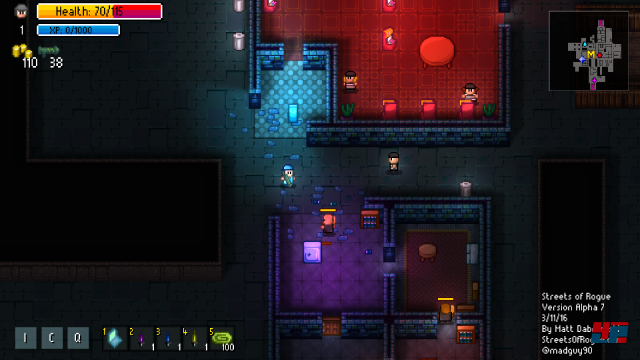 Screenshot - Streets of Rogue (Linux)