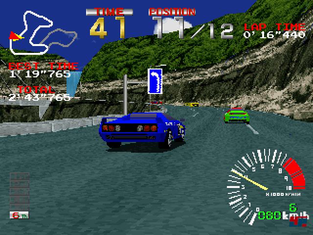 Ridge Racer demonstrierte eindrucksvoll die Power von Sonys Konsole.