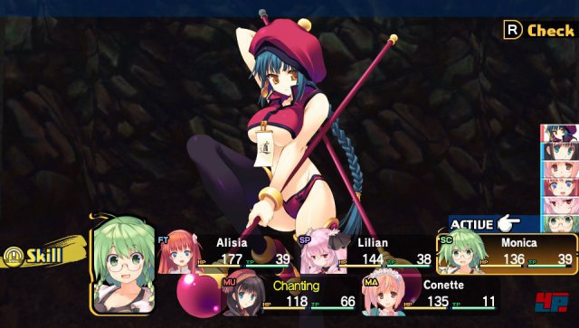 Screenshot - Dungeon Travelers 2: The Royal Library & the Monster Seal (PS_Vita)