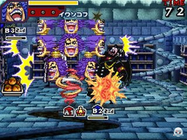 Screenshot - One Piece: Gigant Battle (NDS) 2237507
