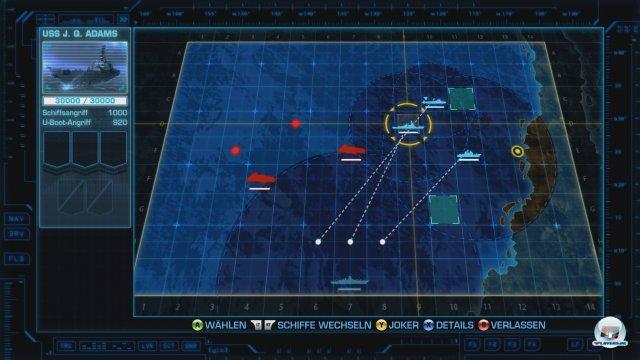 Interessant wird das Spiel erst durch den tatsächlichen Schiffe-versenken-Teil. Das lässt man entweder die Automatik machen...