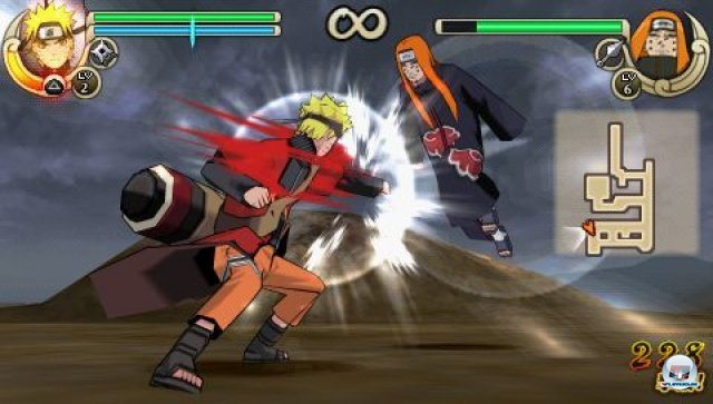 Screenshot - Naruto Shippuden: Ultimate Ninja Impact (PSP) 2260037