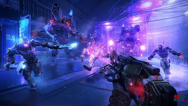 Lo Wang darf ebenfalls gegen futuristische Feinde und Dämonen antreten. Untermalt wird das Geschnetzel/Geschehen mit einem treibenden, rockigen Soundtrack.